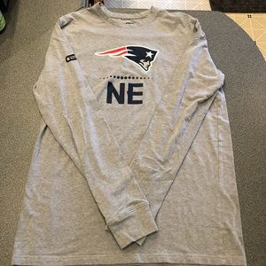(S) Under Armour Patriot's Longsleeve T-shirt